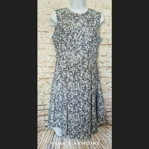 H&M Fit and Flare Dress Size 10
